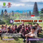 Sekolah Mutiara Mengucapkan Selamat Hari Pramuka ke-58 dan Hari Jadi Provinsi Bali ke-61